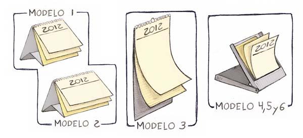 calendario 2012 a tamaño